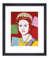 Reigning Queen framed print Sale - Andy Warhol Sale