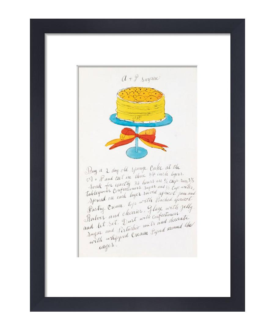 Orange Wild Raspberries framed print Sale - Andy Warhol