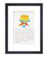 Orange Wild Raspberries framed print Sale - Andy Warhol Sale
