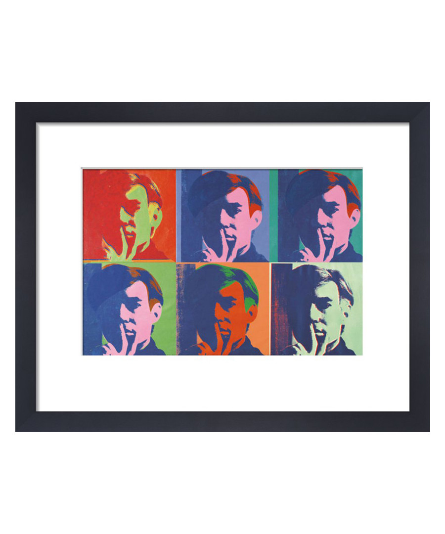 A Set Of Six Self Portraits framed print Sale - Andy Warhol