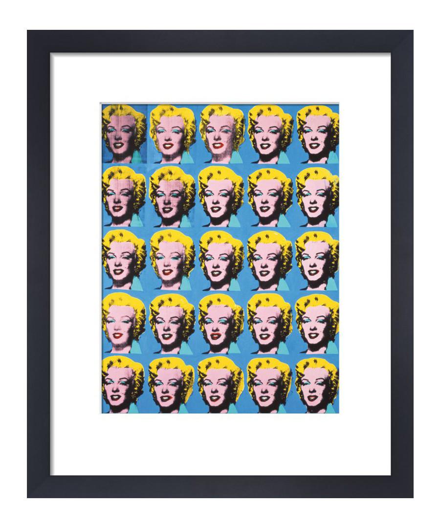 Twenty Five Marilyns framed print Sale - Andy Warhol