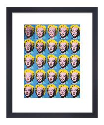 Twenty Five Marilyns framed print