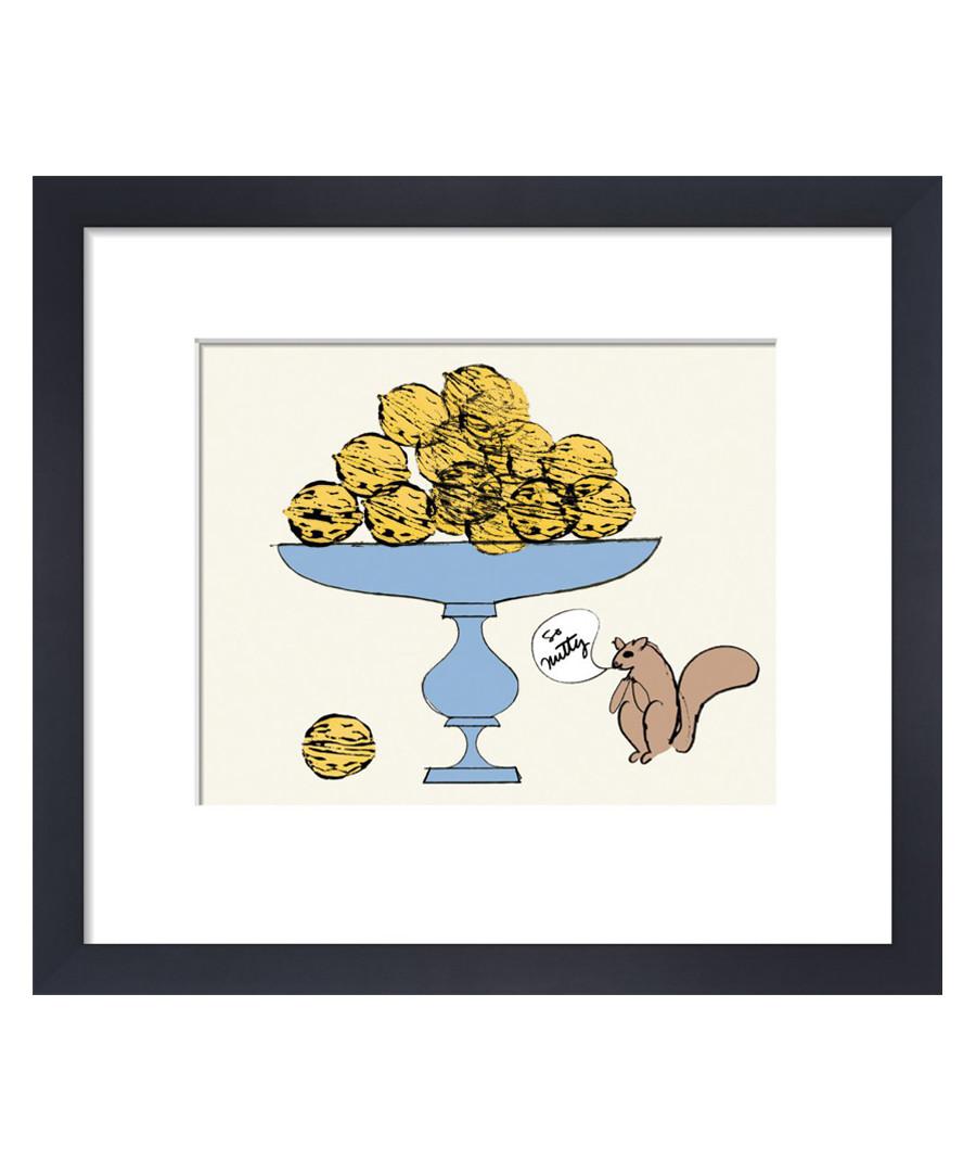 So Nutty framed print 28 x 36cm Sale - Andy Warhol