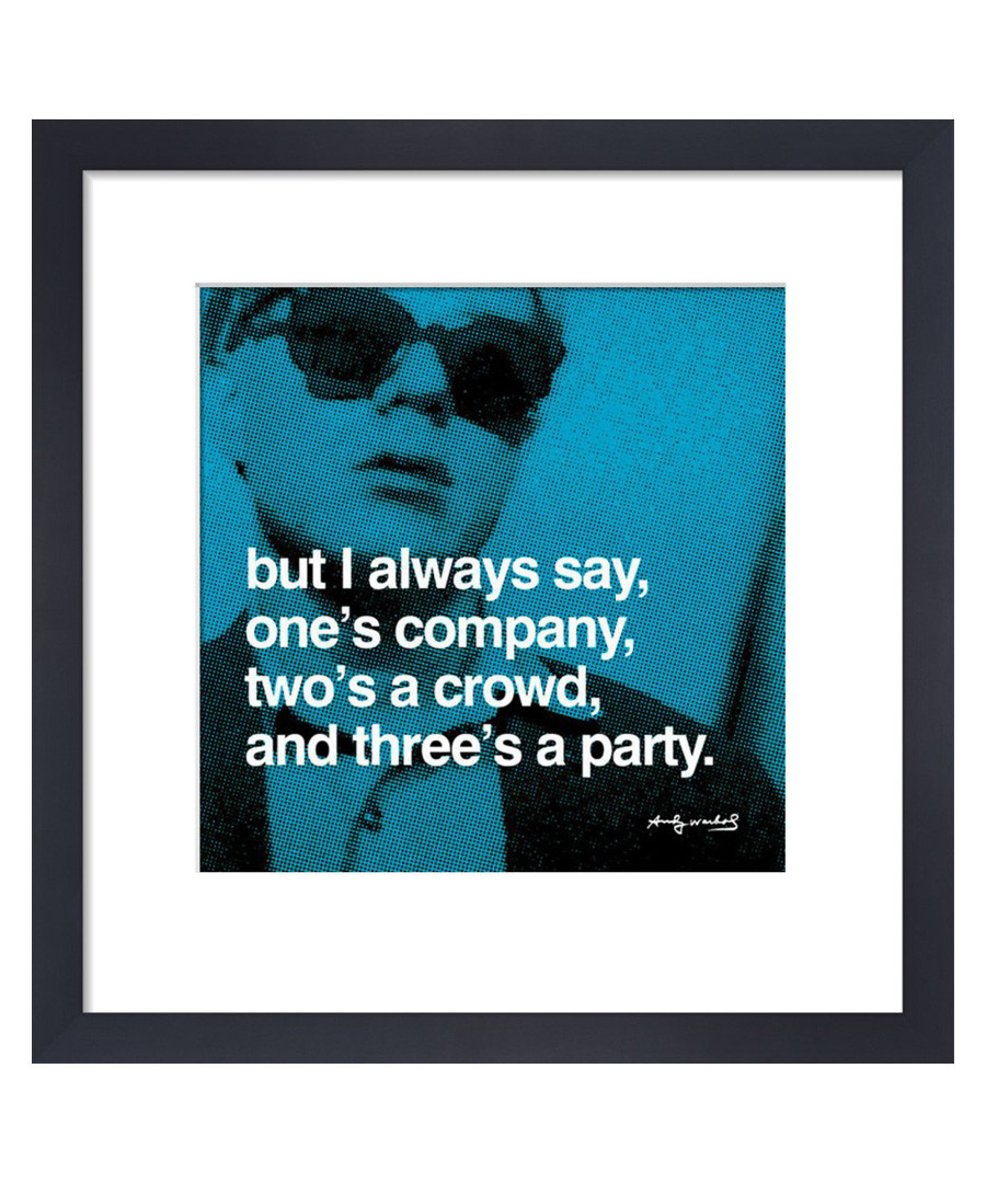 Three's A Party framed print  Sale - Andy Warhol