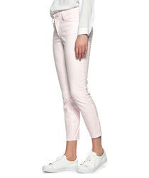 Clarissa pink cotton blend jeans