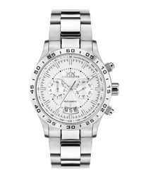 Air Tracer silver-tone steel watch