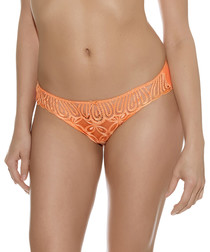 Melodie canteloupe lace briefs