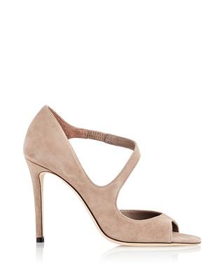 3b8c50e2394 Dawes light mocha leather peep toe heels Sale - Jimmy Choo Sale