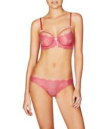 Valerie pink lace briefs