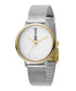 Dual-tone numberless dial watch Sale - just cavalli Sale