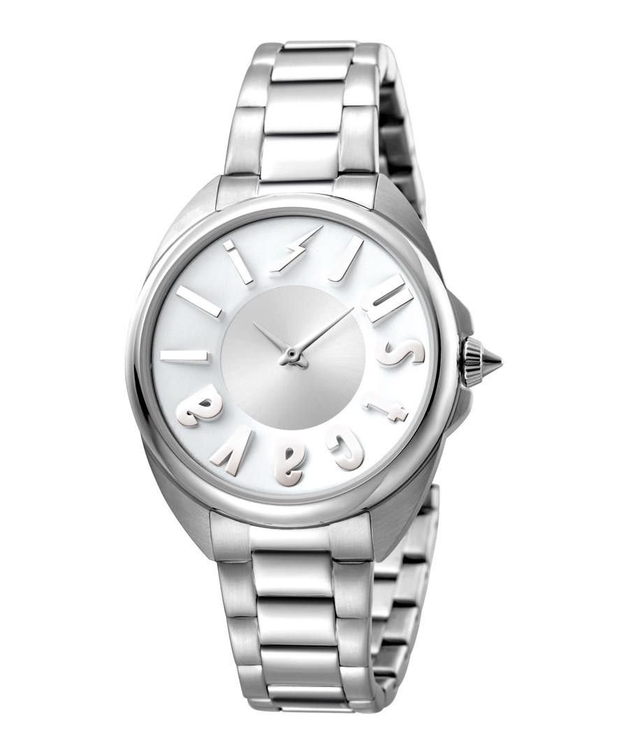 Steel logo dial watch Sale - JUST CAVALLI