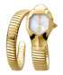 Gold-tone serpent watch Sale - just cavalli Sale