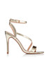Scarlette gold strappy heel sandals Sale - Miss KG Sale