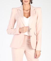 Light pink tailored blazer