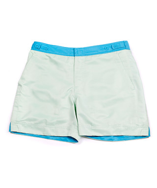 ecb0deb92f Men's George mint green swimming trunks Sale - THOMAS ROYALL Sale