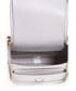 Circulus silver-tone leather clutch bag Sale - Anya Hindmarch Sale
