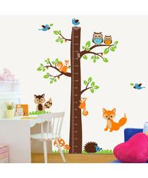 Fox & Tree height wall stickers