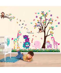 Happy Animals wall stickers