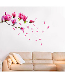Magnolia Flower wall stickers