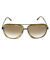 Andy honey pilot sunglasses