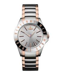 Westminster silver-tone steel watch