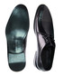 Black patent leather detail Derby shoes  Sale - REPRISE Sale