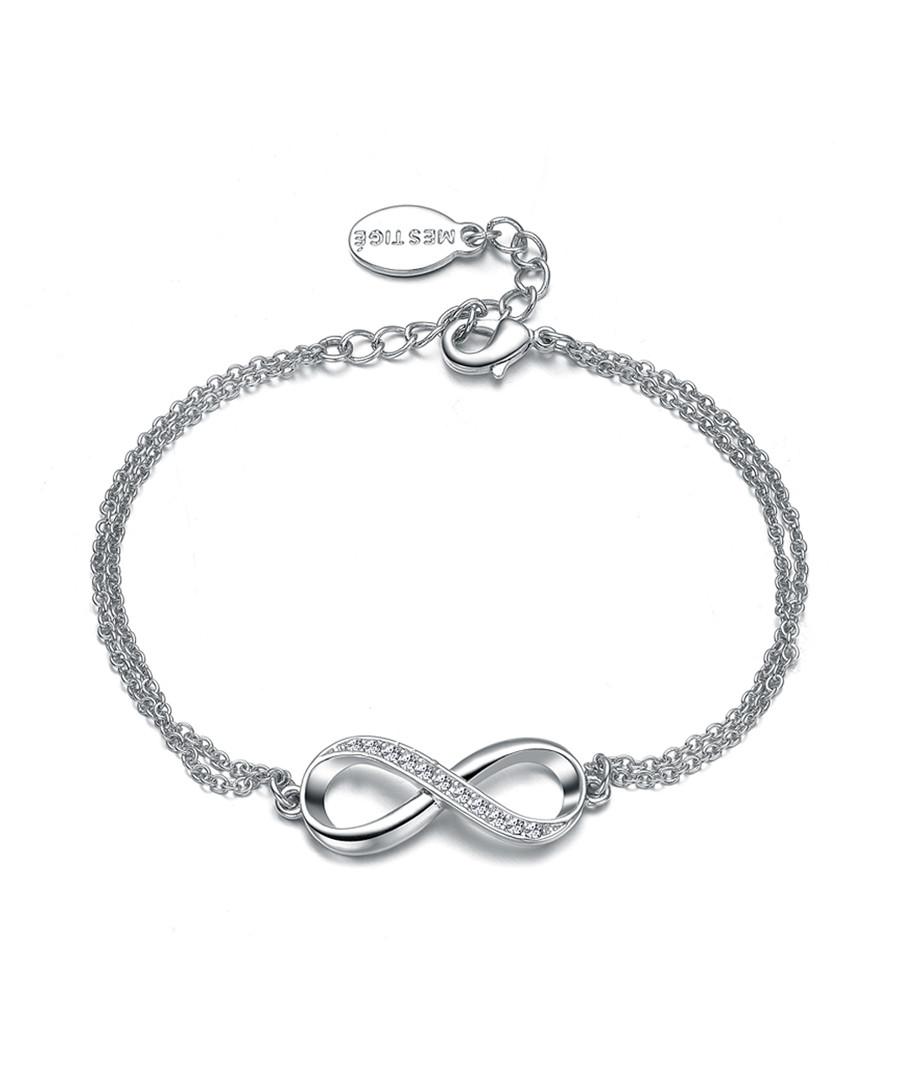 Infinitely Yours silver-tone bracelet Sale - mestige