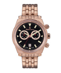 Herrenuhr Master rose steel watch
