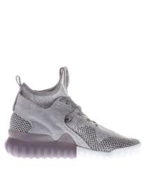 Women's Tubular Primeknit grey sneakers