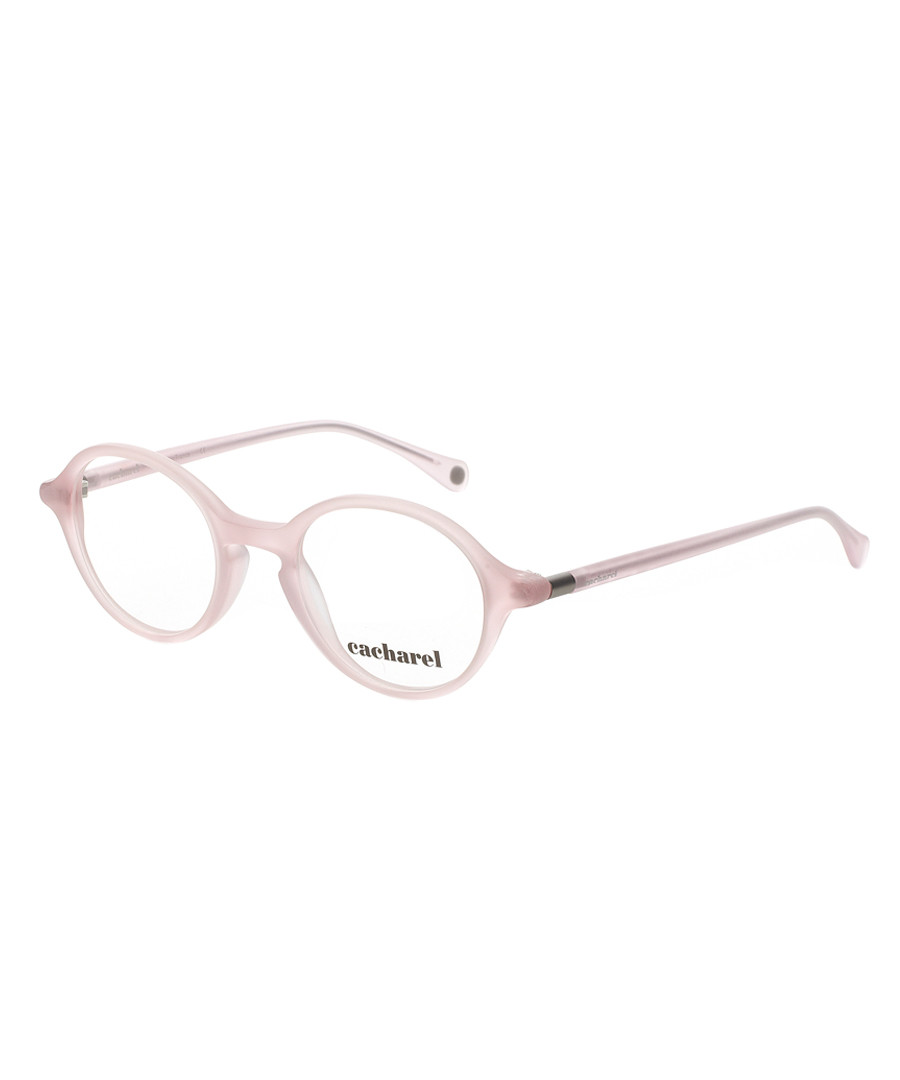 8654698351e1 Pale pink round clear frames Sale - Cacharel