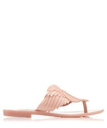 Harmonic Cherub blush heart sandals