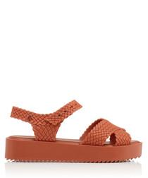 Salinas Hotness tan chunky sandals