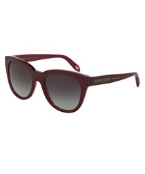 Bordeaux & grey sunglasses