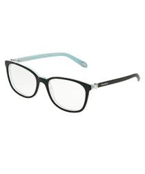 Black & aqua embellished frames