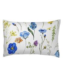 Sapphire cotton floral pillowcase 70cm