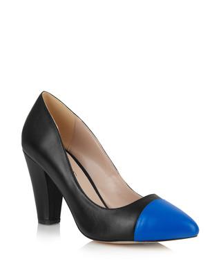 d93b9334065 Beaulieu black   blue leather courts Sale - Yull Sale