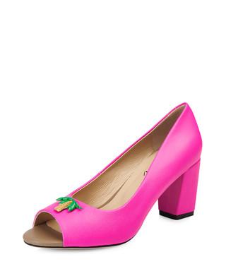 4050b196e83 Westbourne pink leather peep-toe heels Sale - Yull Sale