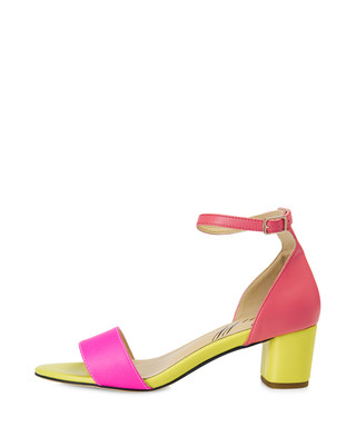 3aeccd9d9fa Scarborough yellow leather mid-heels Sale - Yull Sale