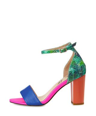 19fe4847826 Harrogate green   orange block heels Sale - Yull Sale