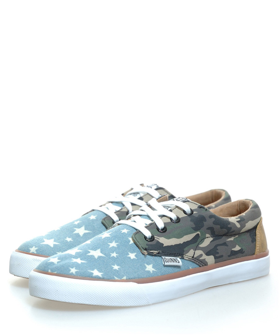 Unisex Nice Crazy blue star sneakers Sale - Djinns