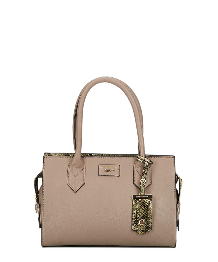 Mini Betsy brown leather grab bag Sale - paul costelloe