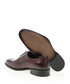 Claret red leather Derby shoes Sale - Bramosia Sale