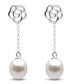 0.85cm pearl & sterling silver earrings Sale - Windsor Pearls Sale