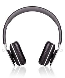 Black folding headphones