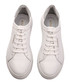 Women's White leather logo sneakers Sale - Rosapreto Sale