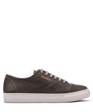 f0191d3b5433f Rosapreto. Women s dark grey leather logo sneakers