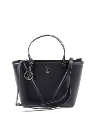 a16616346840 Black   silver-tone leather grab bag Sale - versace 1969 abbigliamento  sportivo Sale