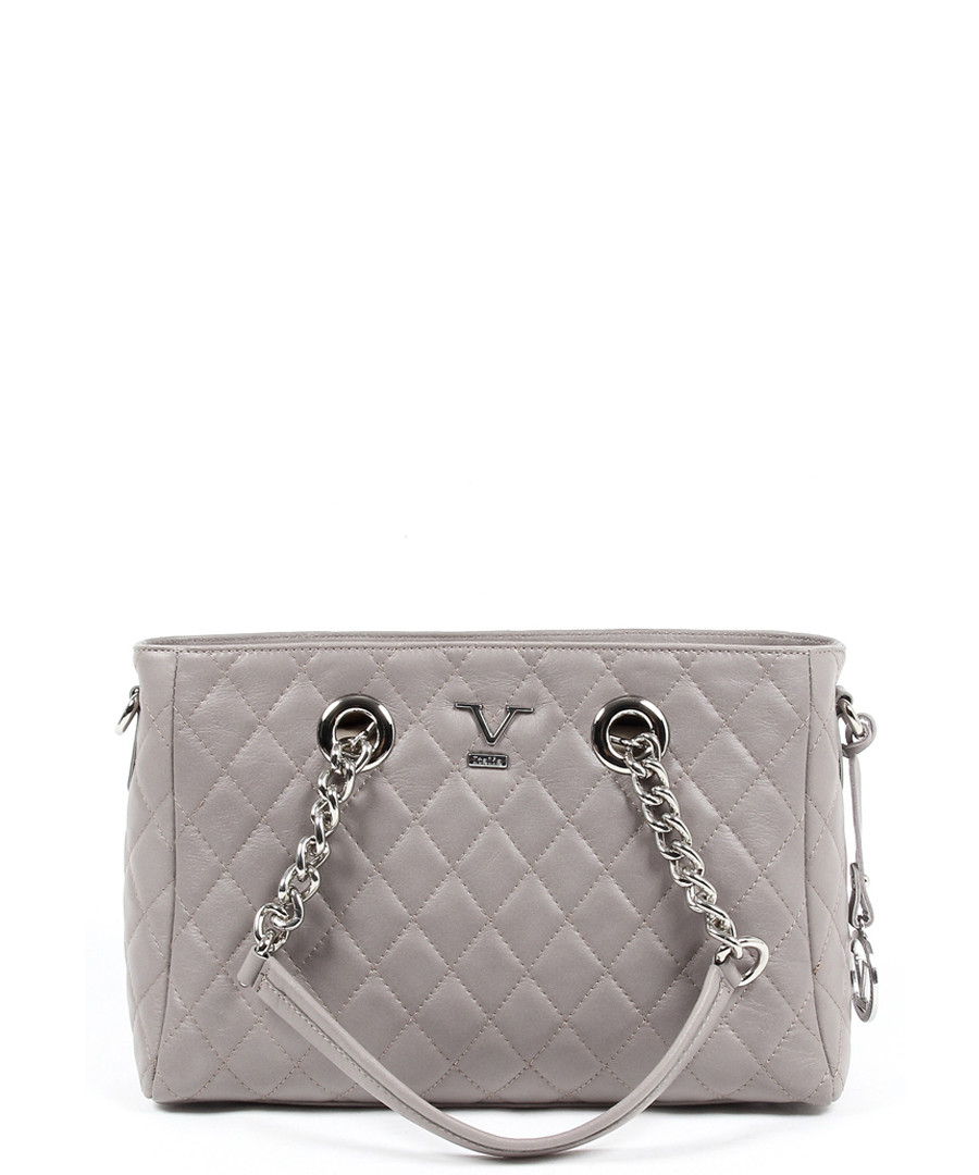Taupe leather quilted shoulder bag Sale - VERSACE 1969 ABBIGLIAMENTO  SPORTIVO bdc72ec02a6a4