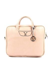 Powder pink square grab bag
