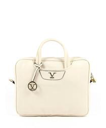 Ivory & gold-tone square grab bag